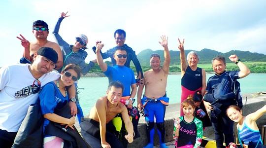 石垣島で楽しもう