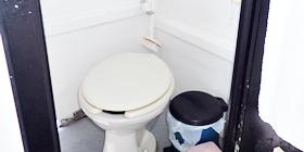 ダイビング船トイレ